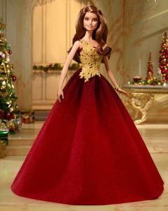 barbie 2016 holiday brunette